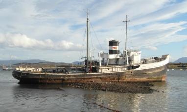 Tierra del Fuego: De barco varado a reserva natural para aves