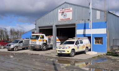 Tierra del Fuego: Bomberos voluntarios de Tolhuin con nuevo destacamento