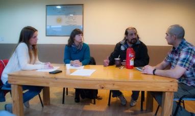 Tierra del Fuego: Candidatos de la lista 72 se reunieron en Río Grande