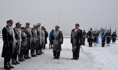 Tierra del Fuego: Conmemoración del 25 de mayo del área naval austral de Ushuaia
