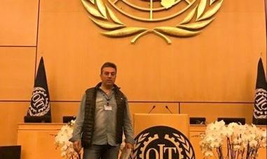 """Tierra del Fuego: Dirigente gremial en Suiza, llevó a la OIT un reclamo de """"persecución política y sindical"""""""