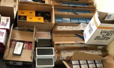 Tierra del Fuego: Dos detenidos y más de un millón de pesos en electrónicos de contrabando