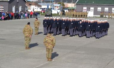 Tierra del Fuego: Egresaron nuevos marineros tropa voluntaria