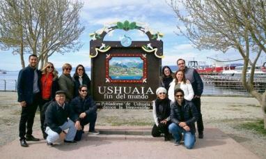 Tierra del Fuego: Empresarios turísticos de Brasil visitaron Ushuaia