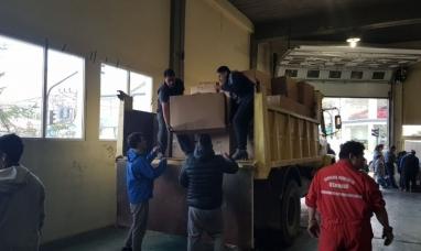 Tierra del Fuego: Entregaron más de mil kilos de papel reciclable, llaves y tapitas a la fundación Garrahan