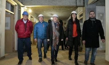 """Tierra del Fuego: La gobernadora en """"campaña"""" con sus candidatos a diputados nacionales visitó Tolhuin"""