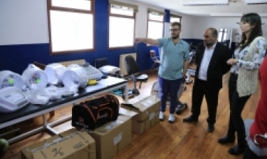 Tierra del Fuego: Gobierno entregó equipamiento al área de kinesiología del hospital Río Grande