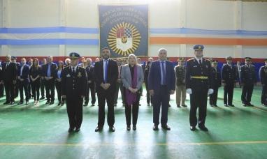 Tierra del Fuego: El Gobierno incorporó 137 nuevos agentes y 12 oficiales a la fuerza policial
