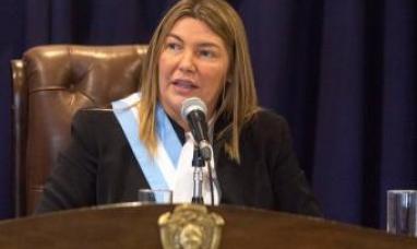 """Tierra del Fuego: """"Si el gobierno nacional cree que porque no gané una elección voy a bajar los brazos no me conocen"""" dijo la gobernadora"""