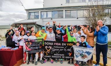 Tierra del Fuego: Maratón solidaria fueron más de 600 las personas que se sumaron como donantes de médula