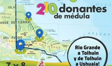Tierra del Fuego: Maratón solidaria