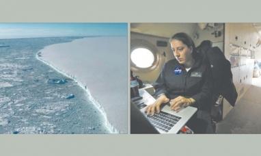 Tierra del Fuego: La NASA ya estudia el cambio climático en la Antártida desde Ushuaia