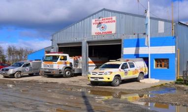 Tierra del Fuego: Ordenamiento del cuartel de bomberos voluntarios de Tolhuin