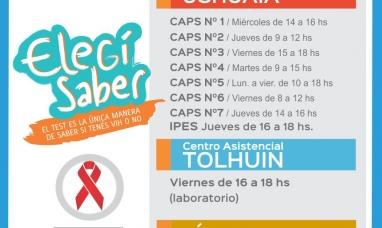 Tierra del Fuego: A partir de los 14 años los chicos ya pueden ir voluntariamente a hacerse testeo de VIH