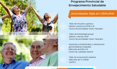 Tierra del Fuego: Programa de envejecimiento saludable