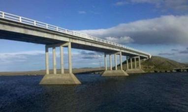 Tierra del Fuego: Puente mexicano llave en mano