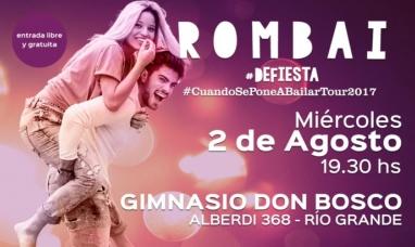 Tierra del Fuego: ROMBAI se presentará gratis en Río Grande