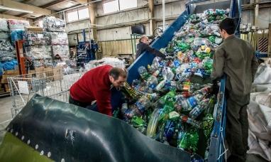 Tierra del Fuego: Saldrán de la provincia más de 15 toneladas de material reciclable