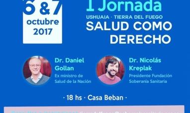 Tierra del Fuego: Salud como derecho se realizan las primeras jornadas organizadas por la municipalidad de Ushuaia y la fundación soberanía sanitaria