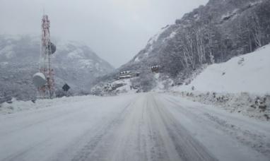 Tierra del Fuego - Santa Cruz: alerta meteorológico por fuertes precipitaciones níveas