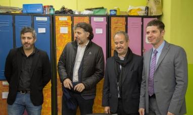 Tierra del Fuego: El titular del SEDRONAR visitó instituciones que abordan la problemática de consumo