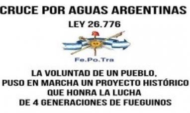 Tierra del Fuego: La Fe.Po.Tra. da un nuevo impulso al cruce por aguas argentinas