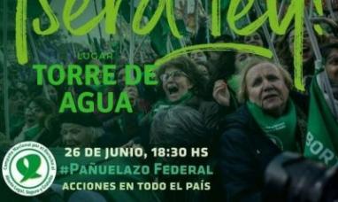 """Tierra del Fuego: El """"pañuelazo"""" federal contará con la adhesión de Río Grande"""