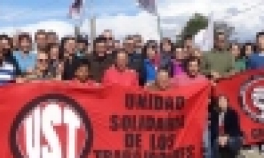 """Tierra del Fuego: La UST expresó su """"más enérgico repudio"""" a la represión contra de los docentes"""