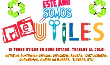 """Re útiles"": Campaña solidaria de Don Bosco para ayudar a chicos de otras escuelas"