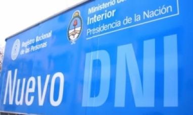 El Móvil de RENAPER realizará trámites de DNI