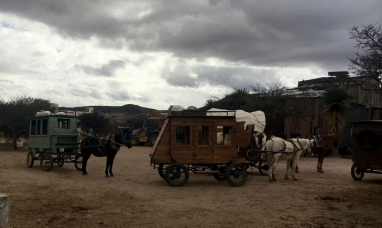 México: El pueblo del viejo oeste...