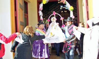 El próximo sábado se realizará la fiesta de la Virgen de Copacabana